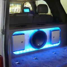 JL audio car stereo leds