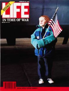 """Life"" returned to weekly publication for the (Gulf) War."