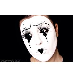 """MIME HALLOWEEN TUTORIAL IS NOW LIVE! Using @maccosmetics @nyxcosmetics @rimmellondonus @citycosmetics @makeupforeverofficial @revlon @narsissist @sigmabeauty ✋✌️✋☝️✋"""