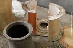 fabrication atelier pot béton Le béton comme matériau par Bertrand Jayr