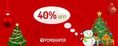 Season's Greetings! Always in December exciting crazy occasions are coming with Big Discount. PCMShaper is always happy to celebrate Christmas and the upcoming New Year 2017. Today we're announcing a huge 40% discount on all PCMShaper products. #WordPressCoupon #WordPressThemeCoupon #JoomlaCoupon #JoomlaTemplateCoupon #ChristmasCoupon #ChristmasOffer #ChristmasJoomlaCoupon #ChristmasWordPressCoupon #Joomla #WordPress