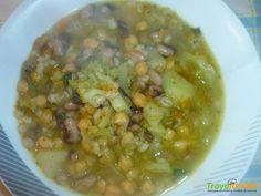 Zuppa con legumi  #ricette #food #recipes