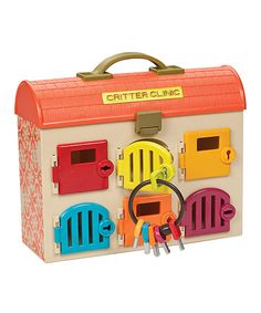 Look what I found on #zulily! Critter Clinic Veterinary Set by B. Toys #zulilyfinds