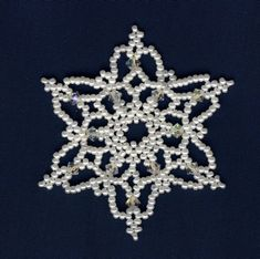 Snowflake #7 Ornament Pattern FREE PATTERN  on Craftsy.com BY Sandra D Halpenny