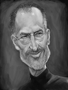 ONE: Recordando a Steve Jobs: 40 ilustraciones impresionantes