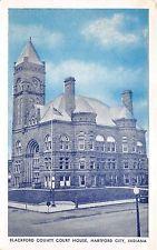 Hartford City Indiana~Blackford County Court House~Loneys News Stand-Blue Sky Pc