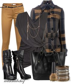 """24 Carat Gold"" by wannabchef on Polyvore"