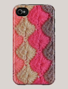 Knitta Iphone cover.  I don't have an iphone but if I did. I would buy this.