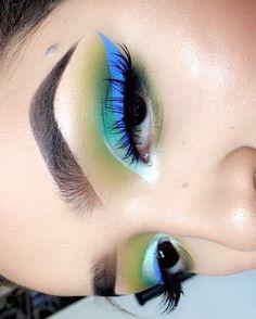 "404 Likes, 14 Comments - Lola Herrera (@lolakins_) on Instagram: ""#wetnwildbeauty  @wetnwildbeauty eyeliner in ""voltage blue"" @bhcosmetics Take me to Brazil palette…"""