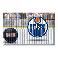 Edmonton Oilers NHL Scraper Doormat (19x30)