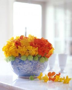 "See the ""Nasturtiums Arrangement from Martha's Garden"" in our  gallery"