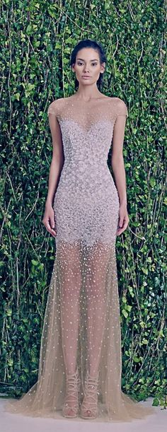 This sparkly floor-length gown and it's beautiful sweetheart neckline is everything. Absolutely everything.