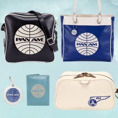 #Travel Nerds unite! Vintage #PanAm bags on @Fab! | The Deal Mommy