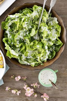 Creamy+Bibb-and-Herb+Salad  - CountryLiving.com