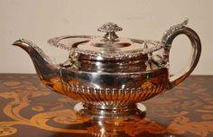 PAUL STORR SILVER   Antique Paul Storr Silver Teapot 1825 at 1stdibs