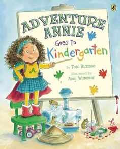 From the author of the 2013 Caldecott Honor Book , ONE COOL FRIEND! Annie Grace wears her Adventure Annie cape to her first day of kindergarten, and proceeds to barrel through the day, searching for a