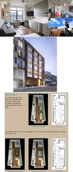 Micro Apartments: Modular Building....