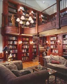 Peachy This Home Library Retro Style Because Of The Straight Lines In The Largest Home Design Picture Inspirations Pitcheantrous