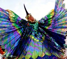 Trinidad and Tobago . and of the Humming Bird - Carnival 1974 Caribbean Carnival Costumes, Trinidad Carnival, Rio Carnival, Carnival Ideas, Scary Costumes, Halloween Costumes, Bug Costume, Soca Music, Carnival Festival