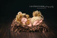 Cutest little lion ever!  Newborn Baby Photography  #newbornphotography #caraleecasephotography #babies