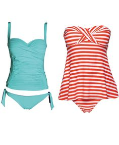 Match your swimsuit to your shape. Want to hide a tummy?  http://www.goodhousekeeping.co.za/en/2012/11/match-your-swimsuit-to-your-shape/