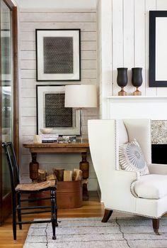 Lake house. Robert Brown Interior Design, Atlanta, GA. Erica George Dines photo.