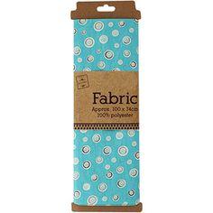 Blue Button Fabric