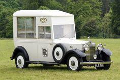 Rolls Royce Ice Cream Van.