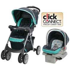 Car Seat Click Connect Travel System Fold Stroller Infant Lightweight Baby Comfy Product Description: This comfy cruiser click connect travel system makes it easy and convenient to get out with your l Best Double Stroller, Double Strollers, Baby Strollers, Best Baby Travel System, Travel Systems For Baby, Car Seat And Stroller, Baby Car Seats, Umbrella Stroller, Jogging Stroller