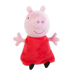 Peppa Pig Small 7 inch Plush - Peppa with Sound