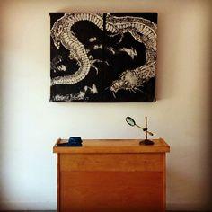 Japanese Art Pallet Art Decorative Arts Wall Hanging by MattPecson
