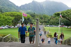At HAWAII PACIFIC UNIVERSITY  classrooms can extend seamlessly into oceans, mountains, rainforests, volcanic craters, and new or ancient cultures. With students from all 50  states and nearly 80 countries, HPU prides itself on maintaining strong academic programs, small class sizes, individual attention to students, and a diverse faculty and student population.