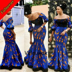 Valnuwax Super wax prints fabric/ Hollandais real dutch wax wedding dress ankarastyles ankara Nigeria women dress