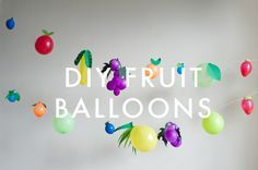 fruit of the spirit balloons