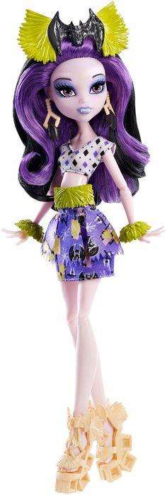 Monster High Ghouls Getaway Elissabat doll