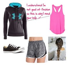"""""""Athletic Wear"""" by weatherswift13 ❤ liked on Polyvore"""