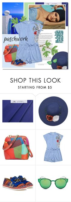 """""""Welcome summer"""" by undici ❤ liked on Polyvore featuring Christian Dior and patchwork"""
