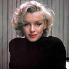 The luckiest thing that ever happened to me was being born a woman. International Womens Day. Marilyn Monroe, March 2017