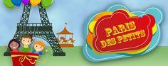 Paris des petits (en Portugais!)