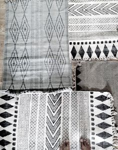 Rugs black & white