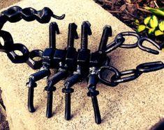 Scorpion, Metal sculpture, Scorpion Metal Figure, scorpion sculpture, scorpio, bolts and nuts art.