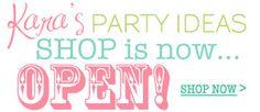 Kara's Party Ideas Shop