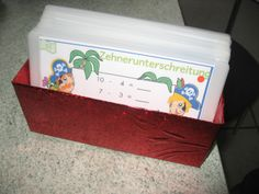 Karteikasten aus Tetra Pak / Card index box made from beverage carton / Upcycling
