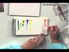 Beginning a Watercolor Painting with Nancy Couick - Part 3 of 5