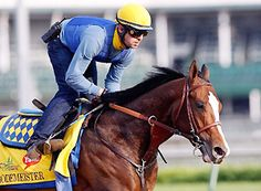 George Alvarez worked with eventual runner-up Bodemeister before the 2012 Kentucky Derby.