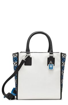 Vince Camuto 'Deb' Leather Satchel available at #Nordstrom
