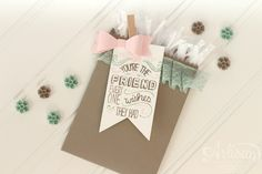 Stampin' Up! Artisan Blog Hop | Friendly Wishes Gift Giving