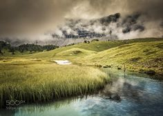 Mountain Stream by LR_Photographie