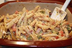 MY FAVORITE RECIPES: CREAMY ONE POT PASTA - DEEP COVERED BAKER VERSION