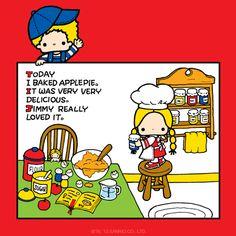 Sanrio: Patty Jimmy:)
